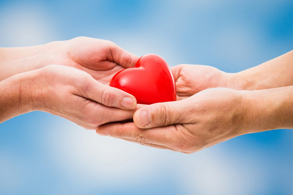 Giving of the heart